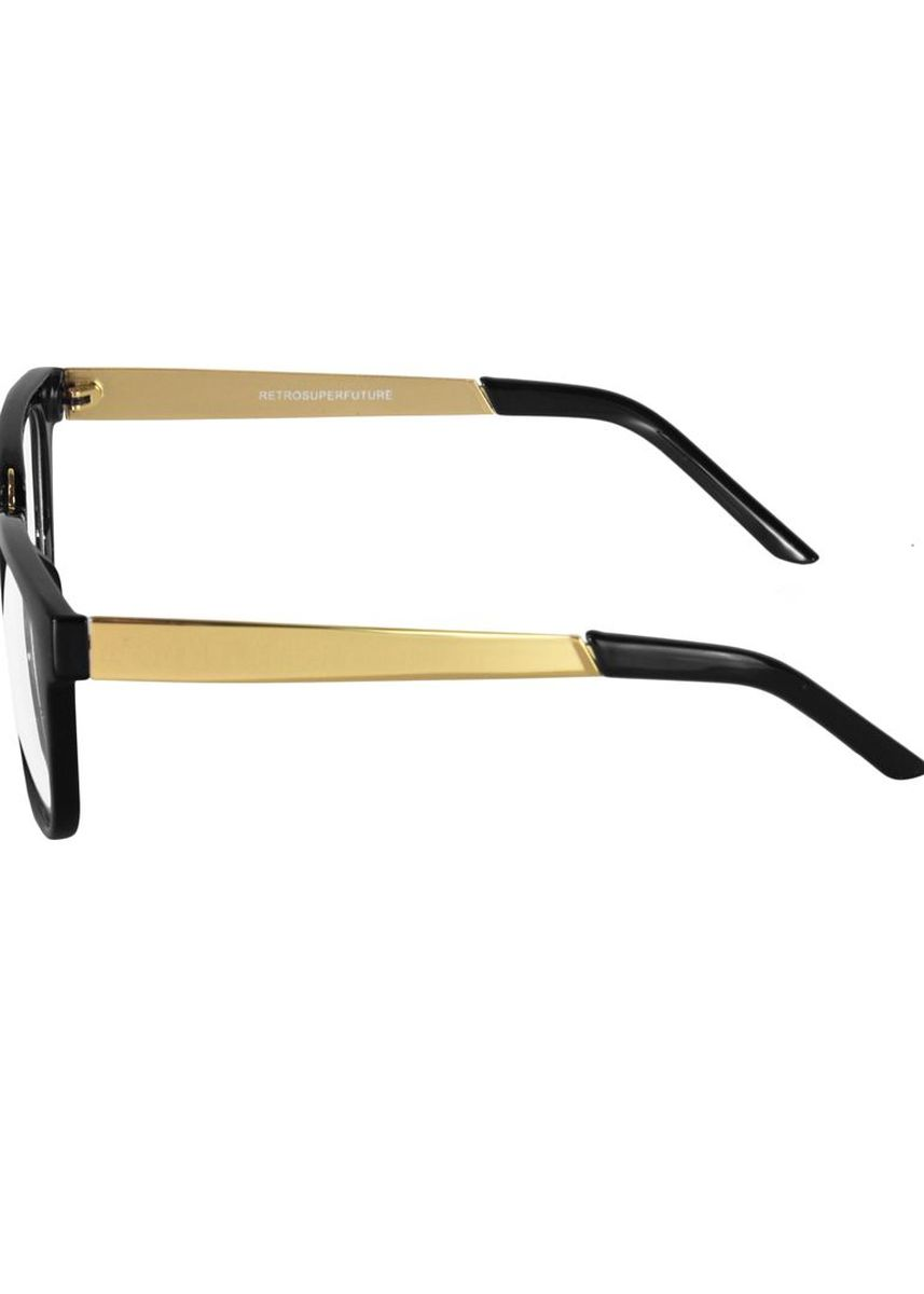 Black color Sunglasses . Eighty Eight Glasses กรอบ แว่นตา EER13 - Black/Gold -