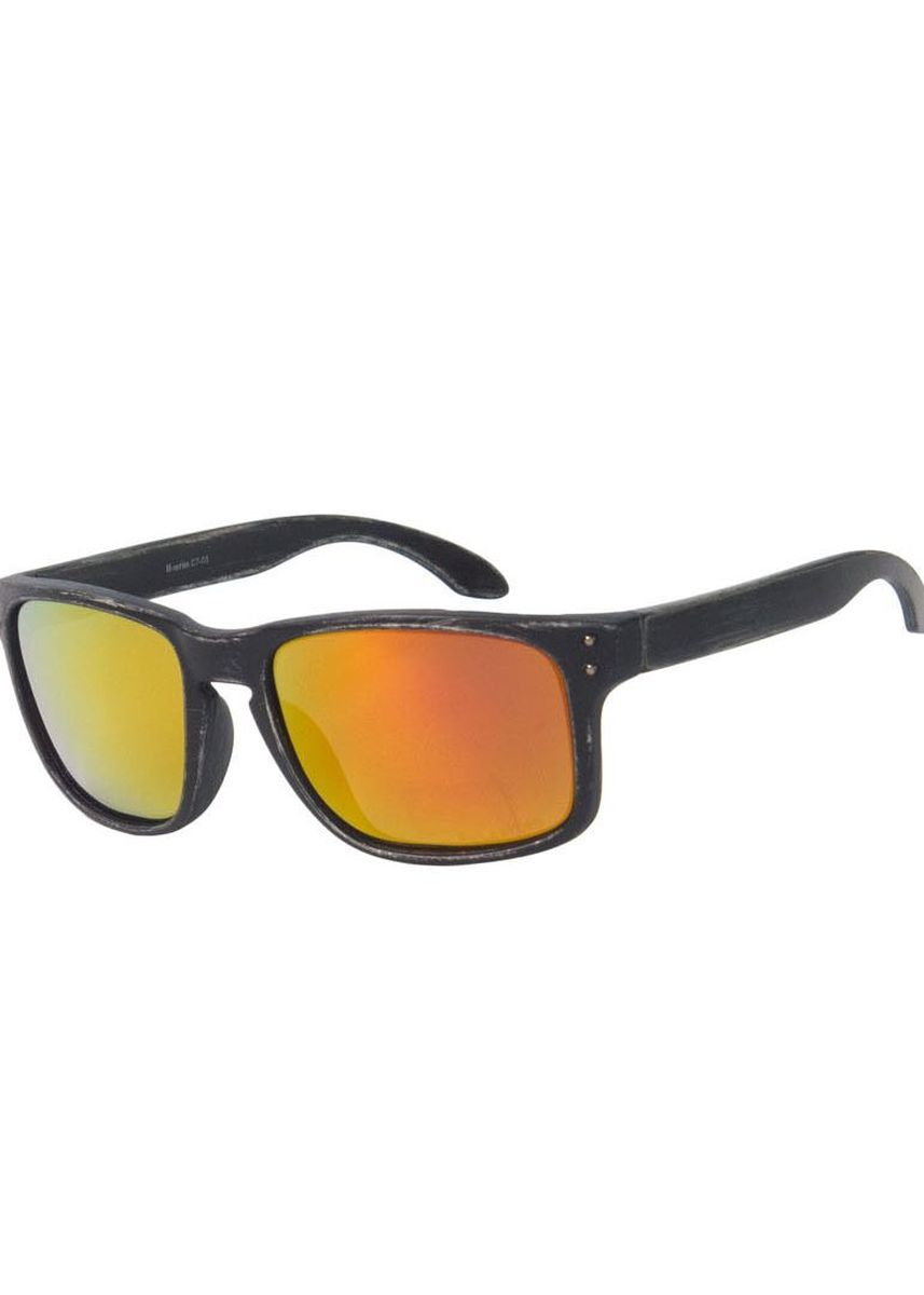 Black color Sunglasses . Eighty Eight Sunglasses แว่นกันแดด รุ่นEER15 (Fallout Black Decay / Ruby Iridium) -