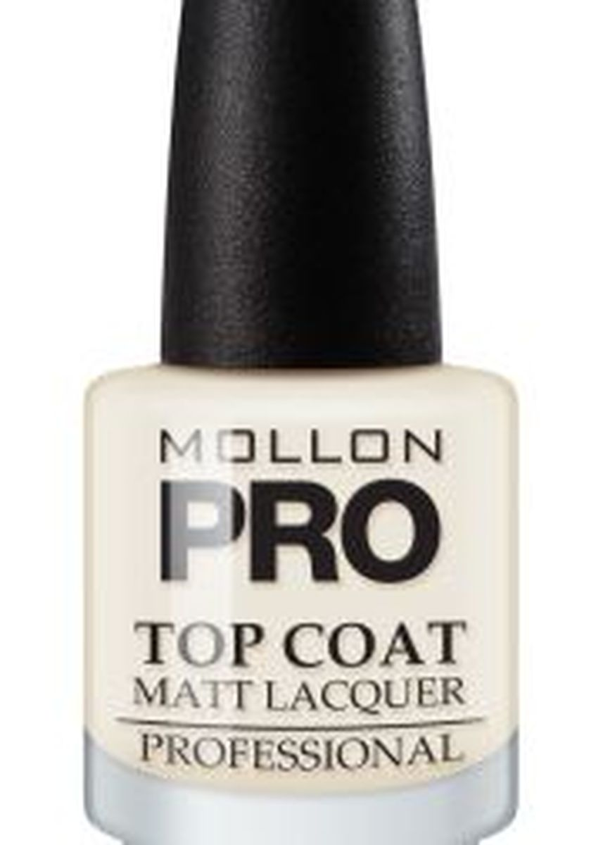 No Color color Nails . MOLLON TOP COAT MATT -