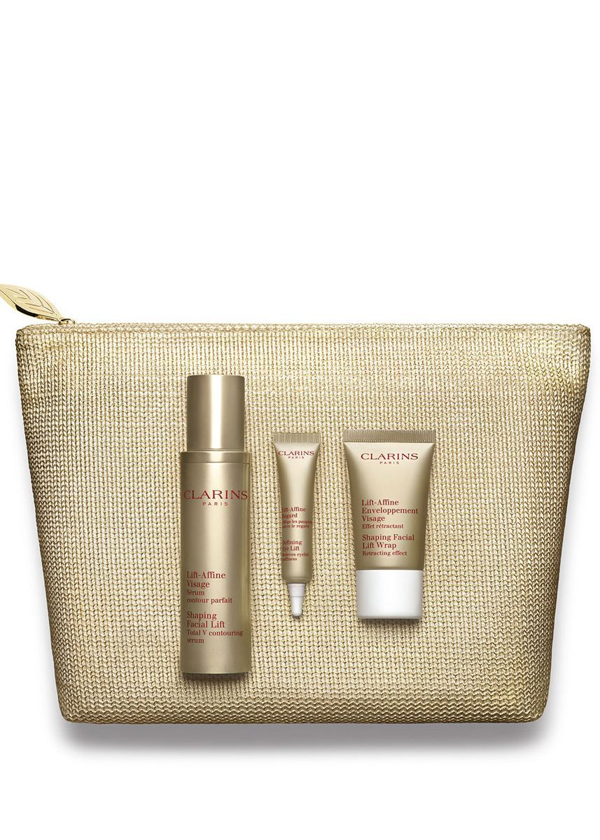 Clarins Perfect V Contouring Expert Shaping Facial Lift Collection Total Serum New Version 10ml Zilingo