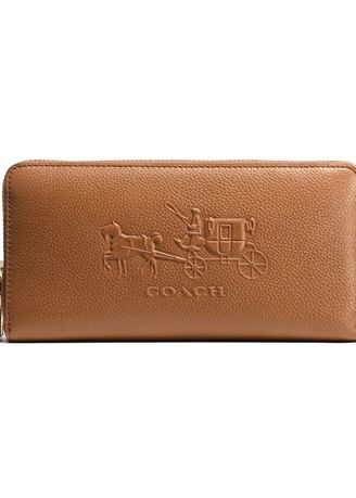 finest selection f609f d391c Coach กระเป๋าสตางค์ 52401 EMBOSSED HORSE AND CARRIAGE ...