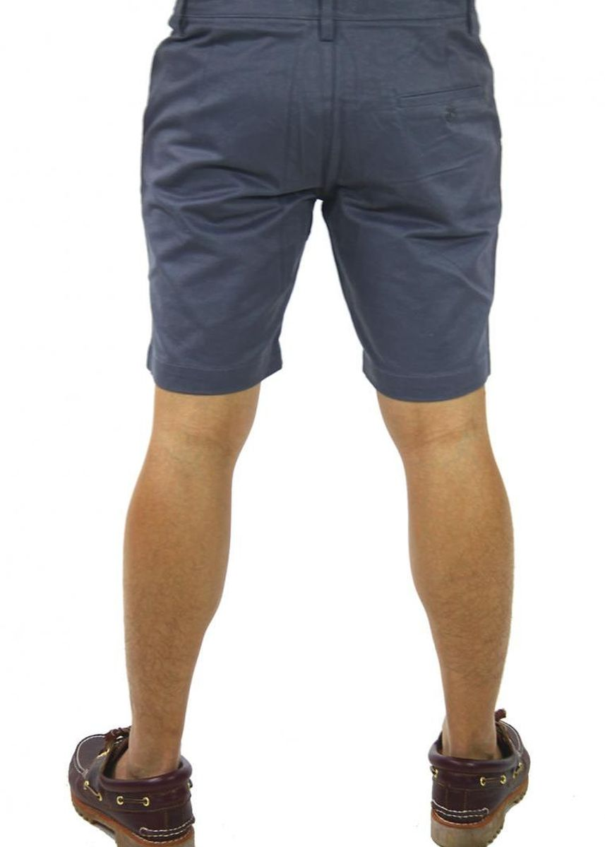 Grey color Shorts & 3/4ths . Smart Shorts with Grey Button - Grey -