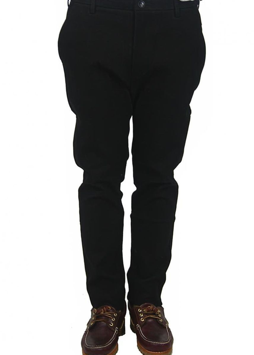 Black color Casual Trousers and Chinos . Richard Slim Fit Pants -