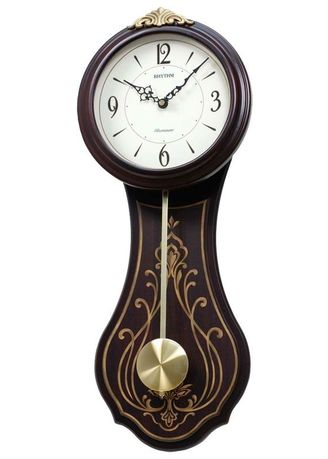 Rhythm Pendulum Wall Clock with Westminster Chime | Home