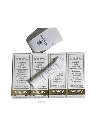 Serum & Treatment . SISLEY Radiance Anti Aging Concentrate 3ml.x 5 (15ml. total) -