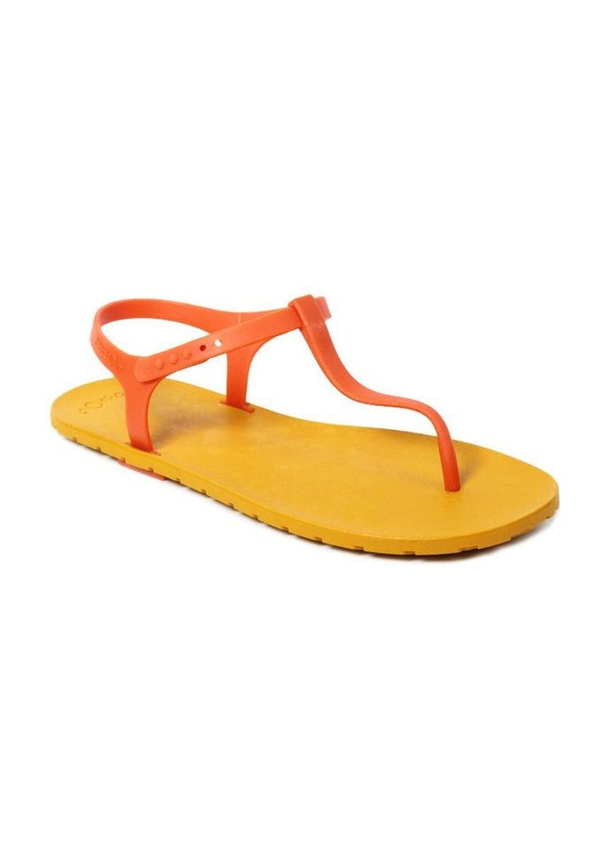 Orange color Sandals and Slippers . Slingback Mustard x Orange -