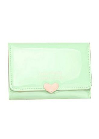 Green color Wallets and Clutches . BOGESI กระเป๋าสตางค์ใบสั้น รุ่น B014 -