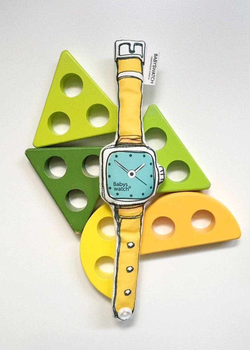 Multi color Accessories . Babyswatch Rattle SQUARE06 -