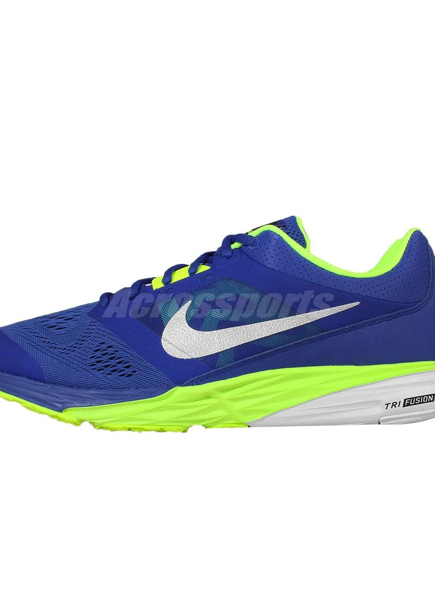 Blue color Sports Shoes . Nike Running Shoes Tri Fusion 749171-403 -