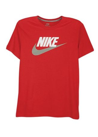 Red color T-Shirts and Polos . Nike Men's Casual T-shirt Short Sleeve (Red) -