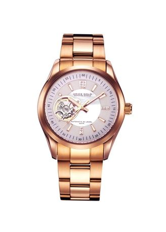 Multi color Analog . Aries Gold Inspira L 9003 Rg-Wmop Women'S Watch -