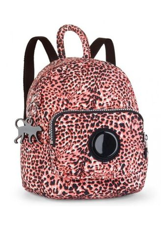 Mini Backpack in Fiesta Animal