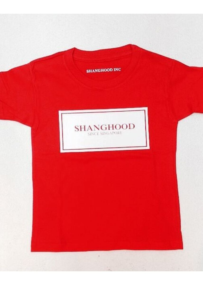 Red color Tops . Shanghood Box -