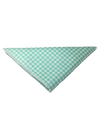 Green color Pocket Squares . Patchwork Series Baby Green Plaids Design Cotton Pocket Square -