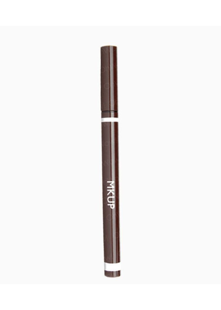 Brown color Eyes . MKUP® Illegal Eyeliner -