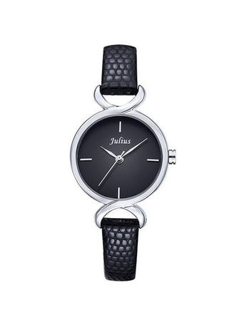 Black color Analog . JS CHARME Leather Women Watch -