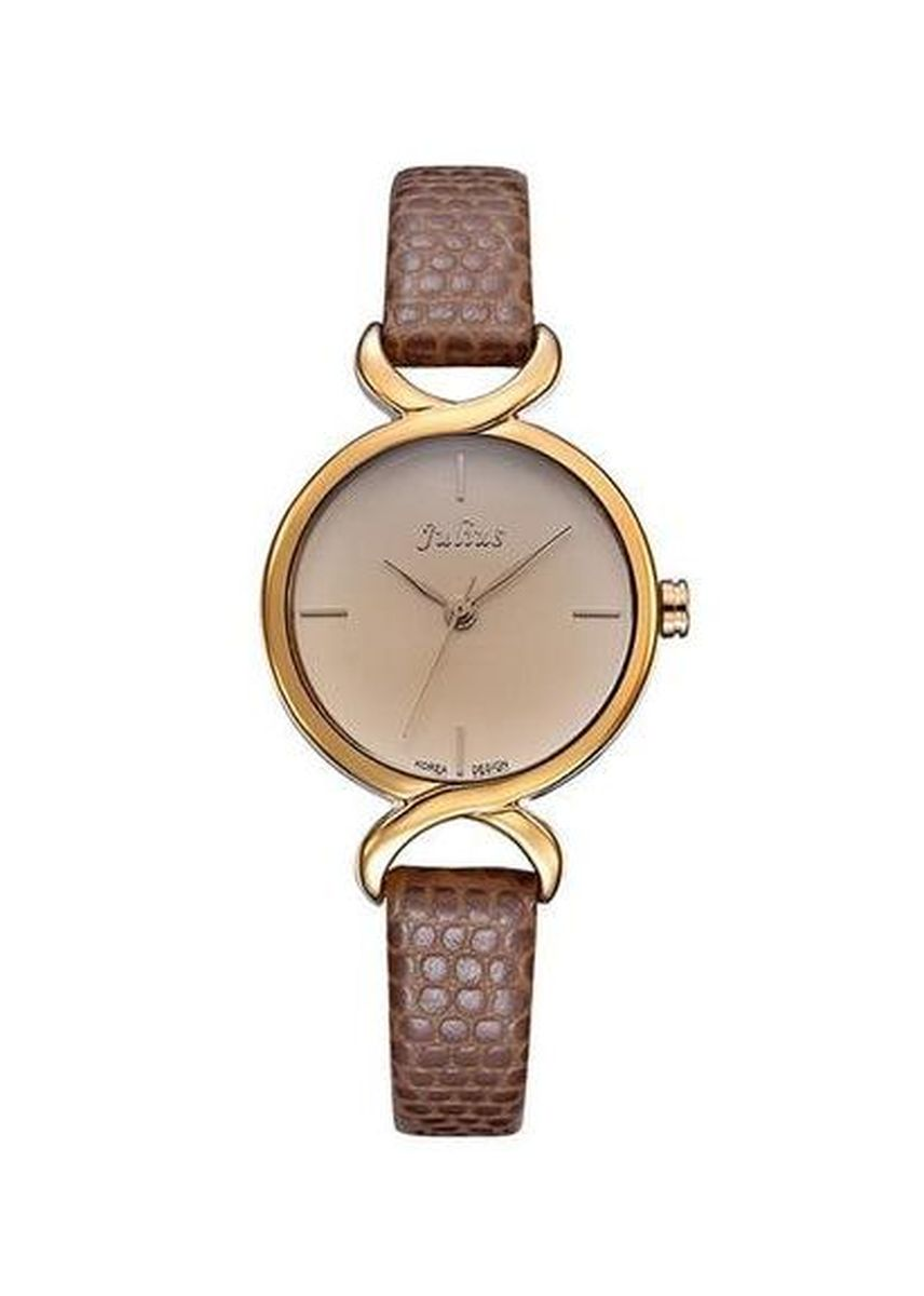 Brown color Analog . JS CHARME Leather Women Watch -