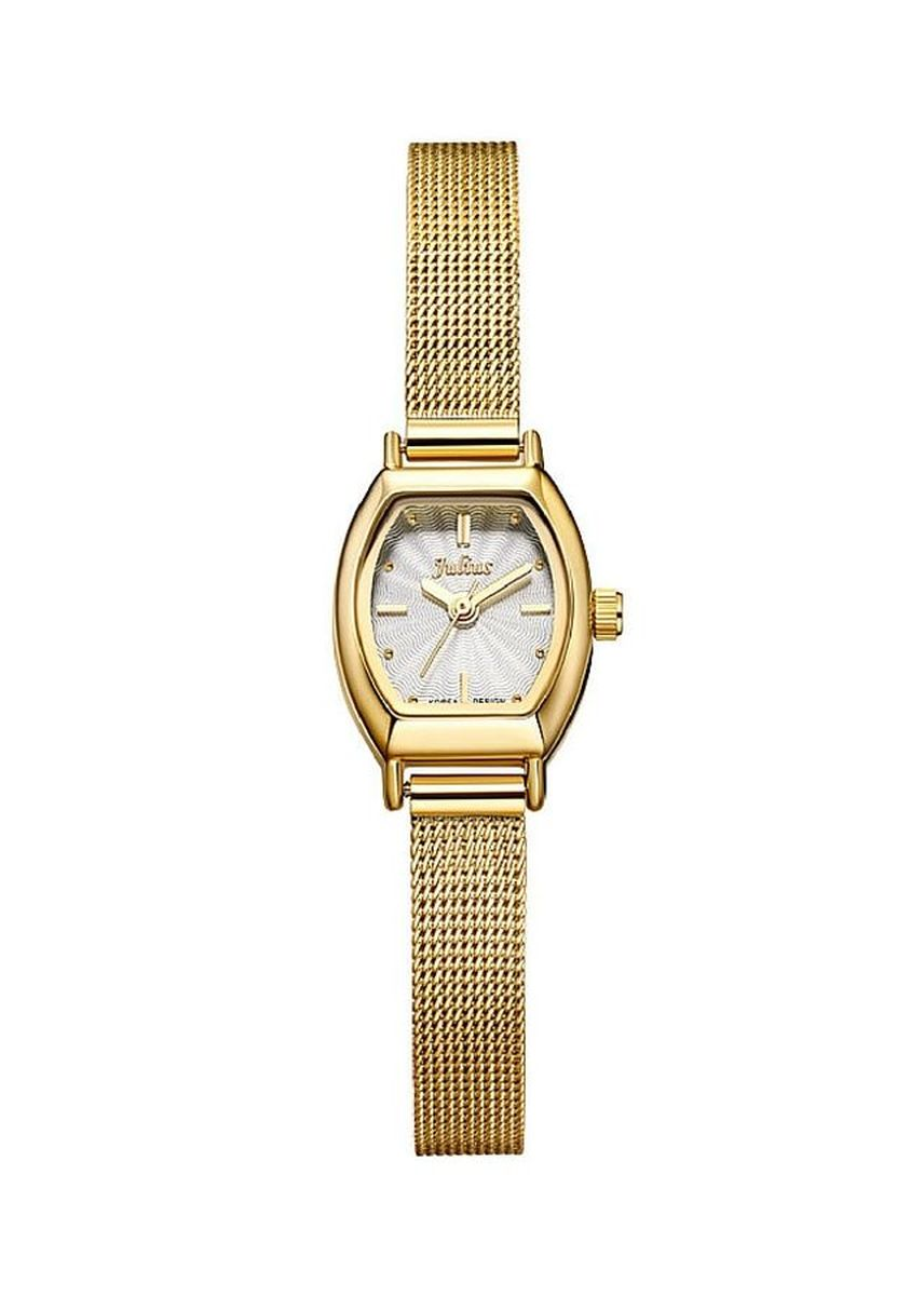 Gold color Analog . JS FULGENTI STAINLESS STEEL WOMEN WATCH -