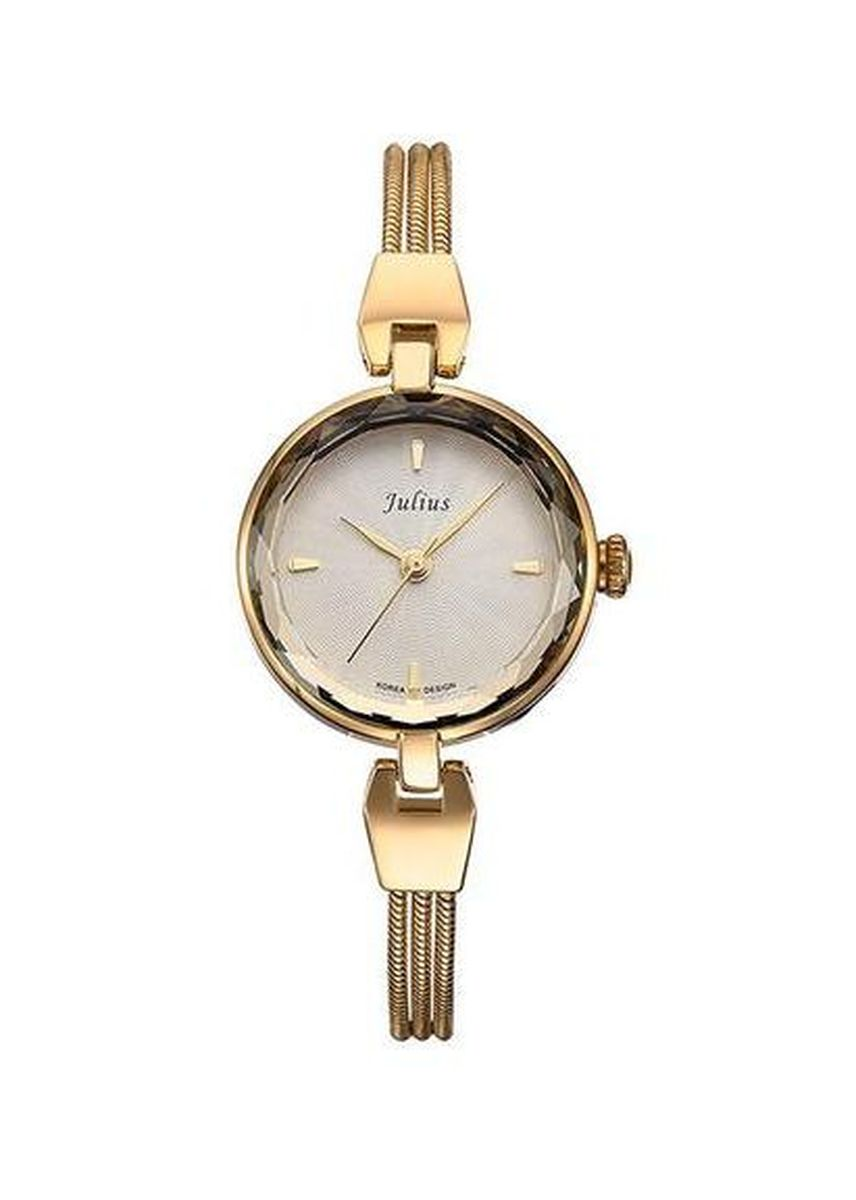 Gold color Analog . JS SERICO STAINLESS STEEL WOMEN WATCH -