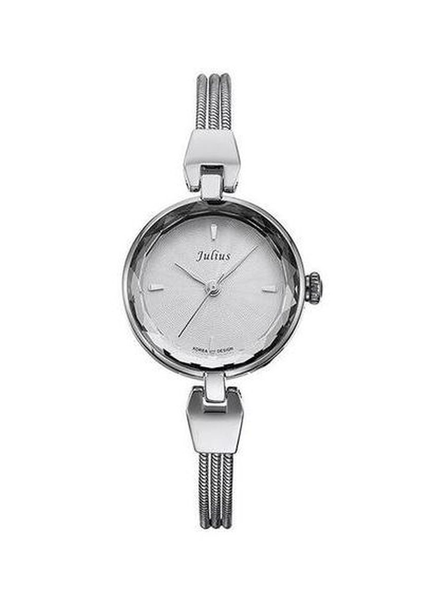 Silver color Analog . JS SERICO STAINLESS STEEL WOMEN WATCH -