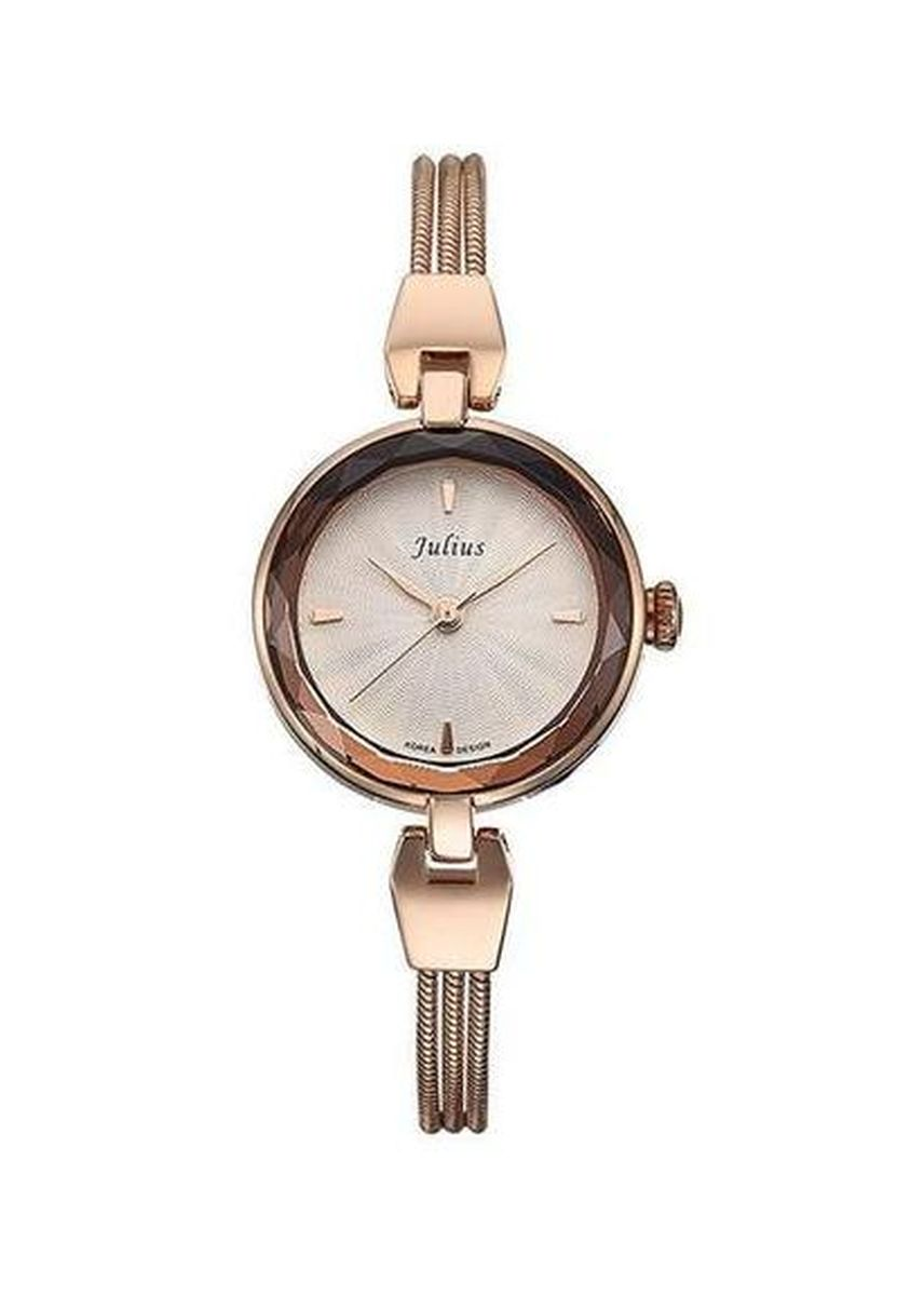 Pink color Analog . JS SERICO STAINLESS STEEL WOMEN WATCH -