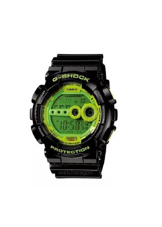 Black color Digital . Casio G-SHOCK GD-100SC-1D -