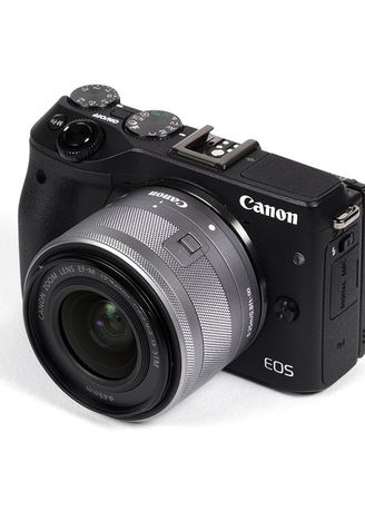 . Canon EOS M10 Kit with EF-M 15-45mm f/3.5-6.3 IS STM (Black) -