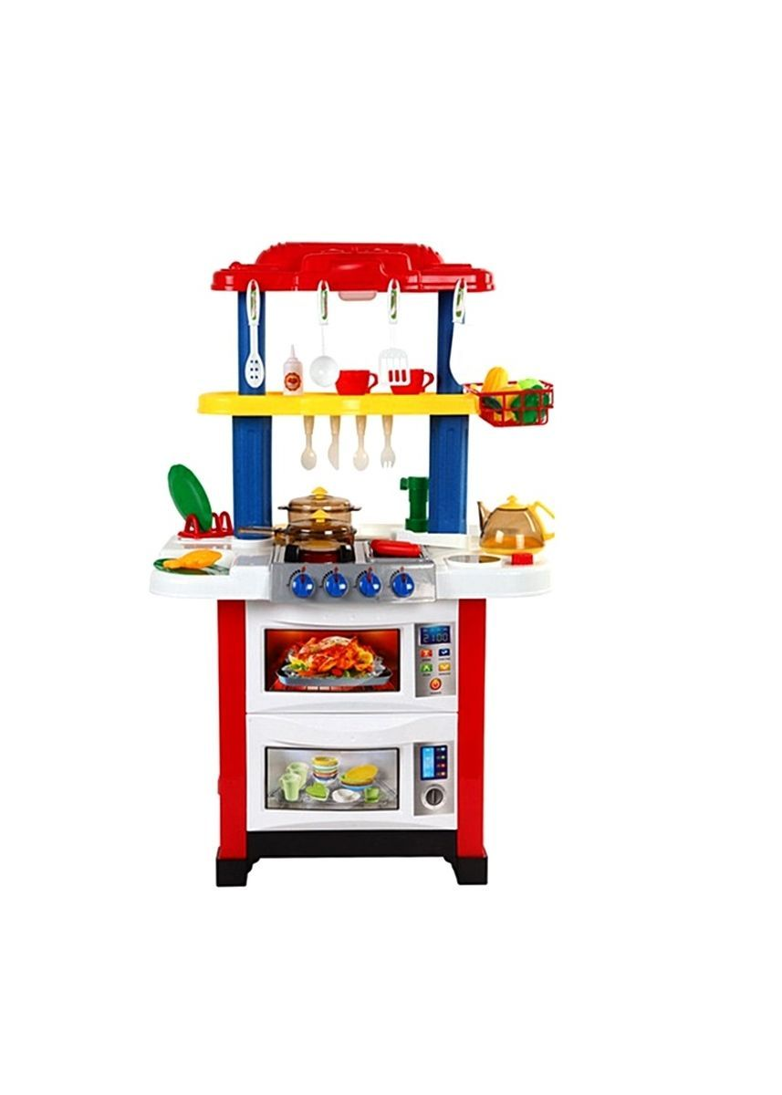 Red color Toys . Electronic Kitchen Play Set -