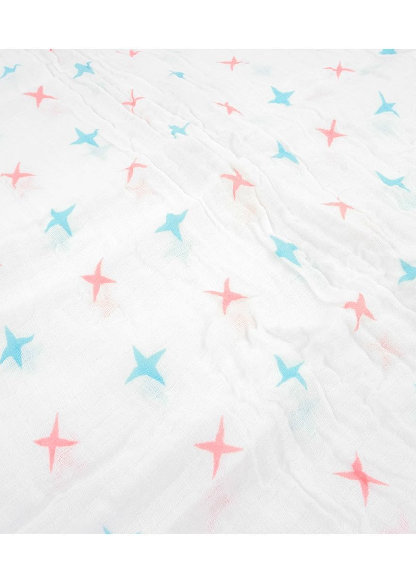 Multi color Dresses . Stars and flowers swaddle set of 2 -