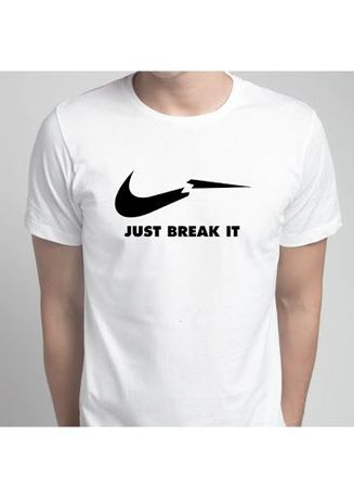 White color T-Shirts and Polos . Just Break It Tee -