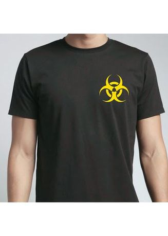 Black color T-Shirts and Polos . Biohazard Tee -