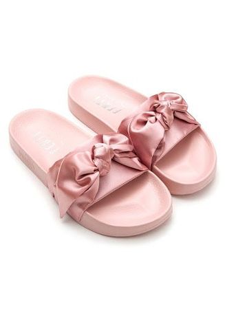 hot sale online 56034 a856d RIHANNA x PUMA x FENTY Bow Sliders | Women's Sandals and ...