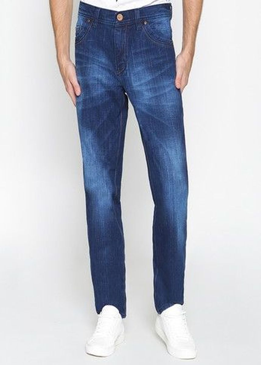 Blue color Jeans . 2Nd Red Fashion Jeans 121608 -