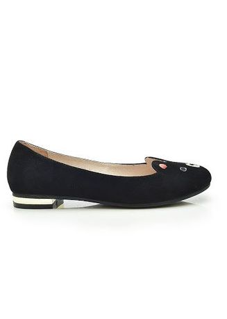Black color Flats . Beary Flats -
