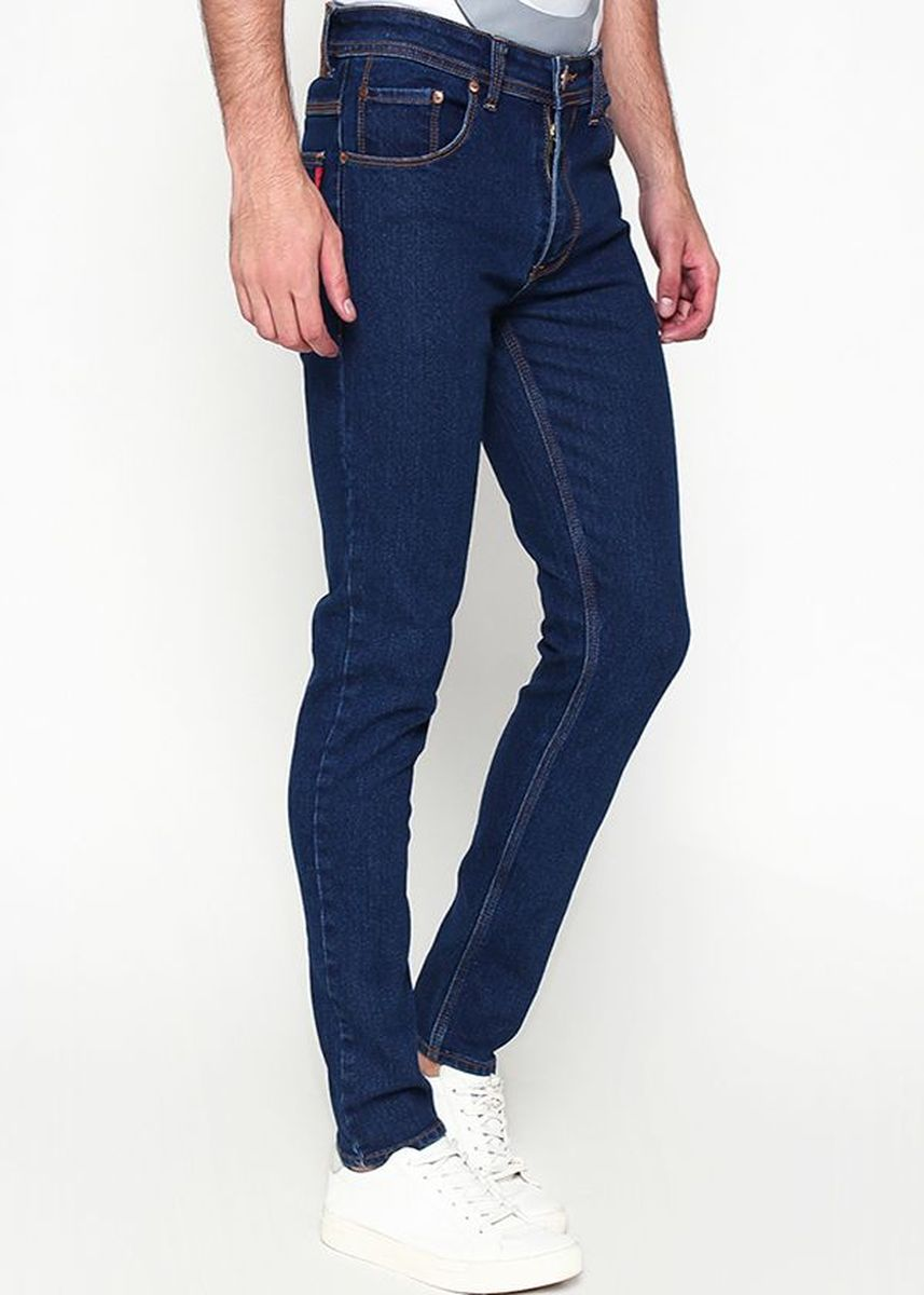 Navy color Jeans . 2Nd Red Denim Slim Fit 133253 -