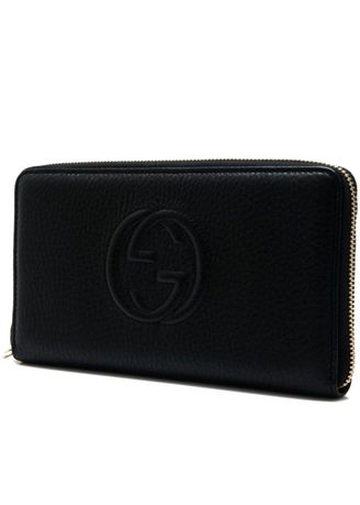 34a565a9998d Gucci Soho Leather Zip Around Wallet | Women's Wallets and Clutches ...
