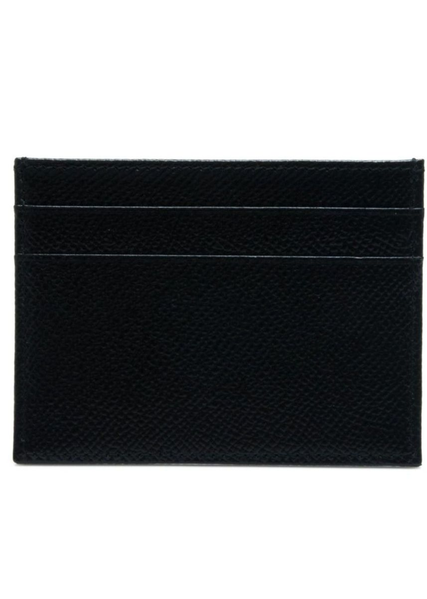 Black color Wallets and Clutches . Dolce & Gabbana Card Holder -