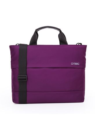 Purple color Duffle Bags . Original Digital Bodyguard DTBG Shoulder Handbag Laptop Bag D8197W 13.3 Inch -
