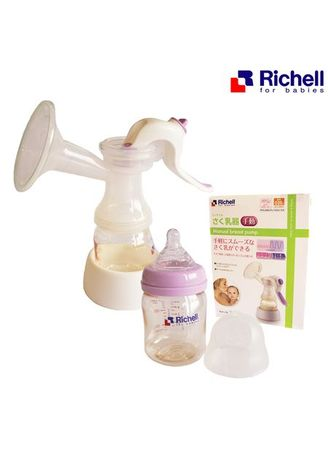 Multi color Others . Zapps Toys ที่ปั๊มนมแบบโยก Richell Manual Breast Pump -