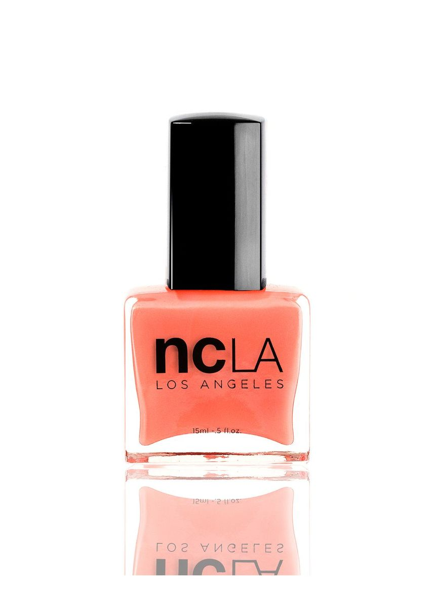 Pink color Nails . NCLA I Only Fly Private Nail Polish - 15ml -