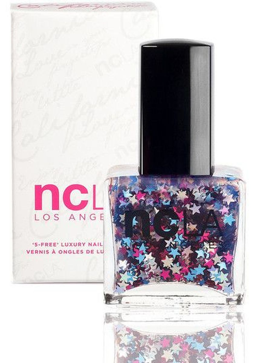 Multi color Nails . NCLA Red, White, And You! Nail Polish - 15ml -