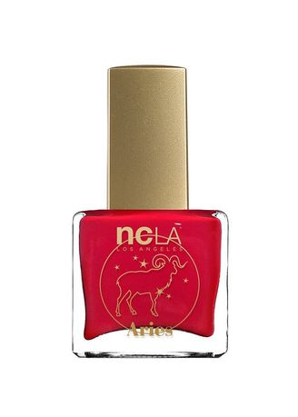 Red color Nails . NCLA Aries: March 21 April 19 Nail Polish - 15ml -