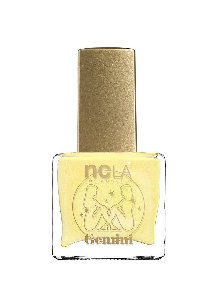 Yellow color Nails . NCLA Gemini: May 21 June 20 Nail Polish - 15ml -