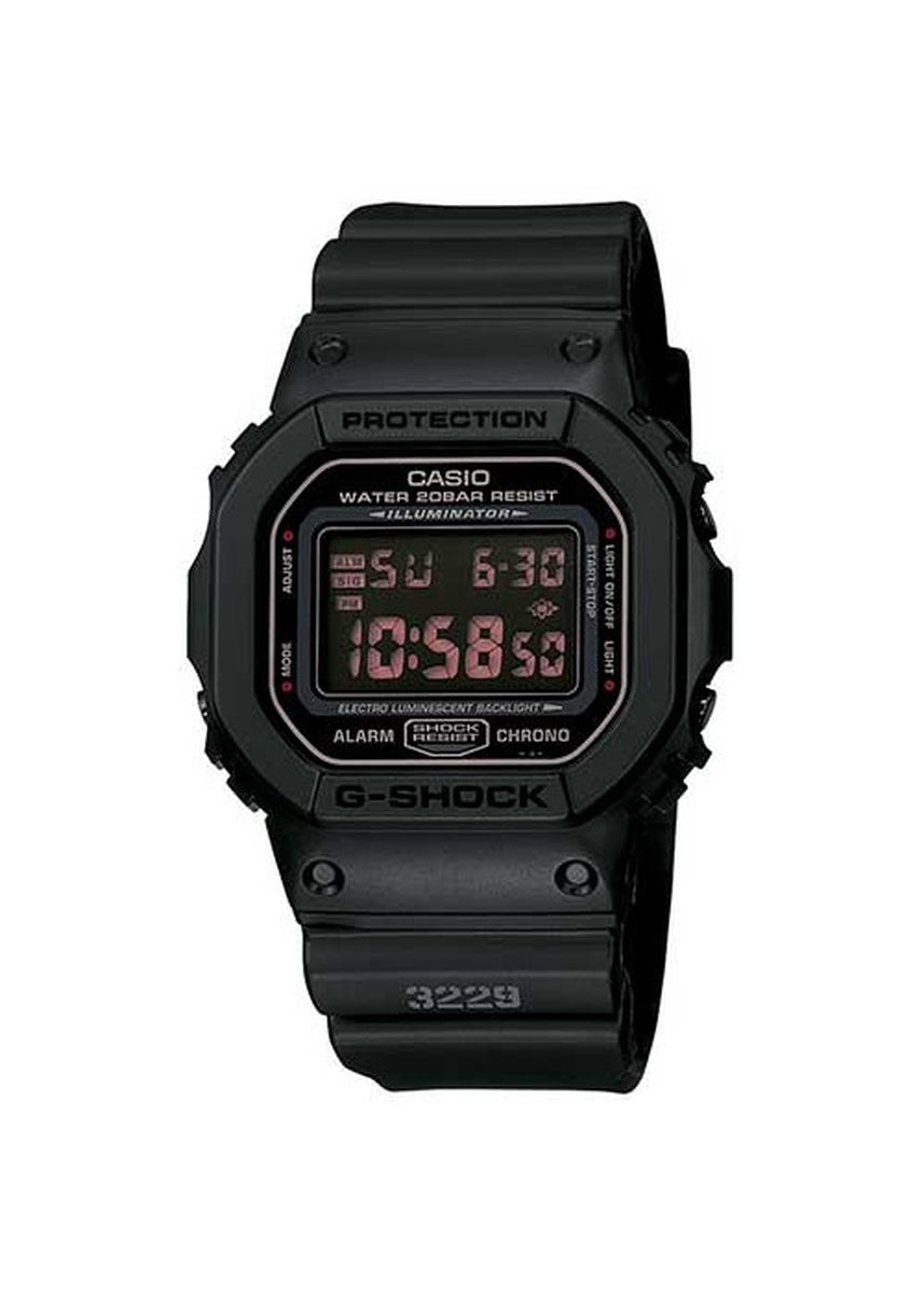 Black color Digital . Casio G-Shock Flash Alert and a Countdown Timer Watch -