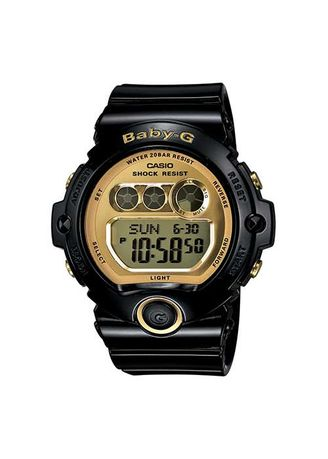 Black color Digital . Casio Baby-G Version G-Shock Watch -