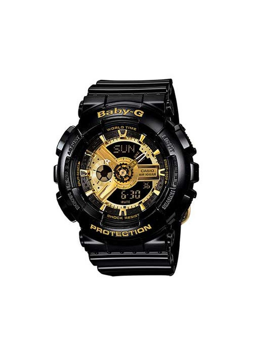 Black color Analog . Casio Popular G-Shock Ga-110 Series Watch -