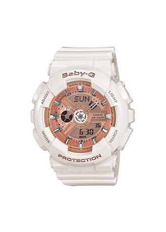 White color Analog . Casio Popular G-Shock Ga-110 Series Watch -