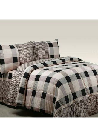 Brown color Bedroom . KING Sprei Katun Motif Martin Uk 160x200x30 -