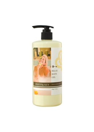 No Color color Body Wash . Perth's Key Relax Bath Gel 500g -