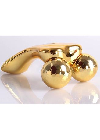 Gold color Enhancement & Treatments . 3D Face and Body Massager -